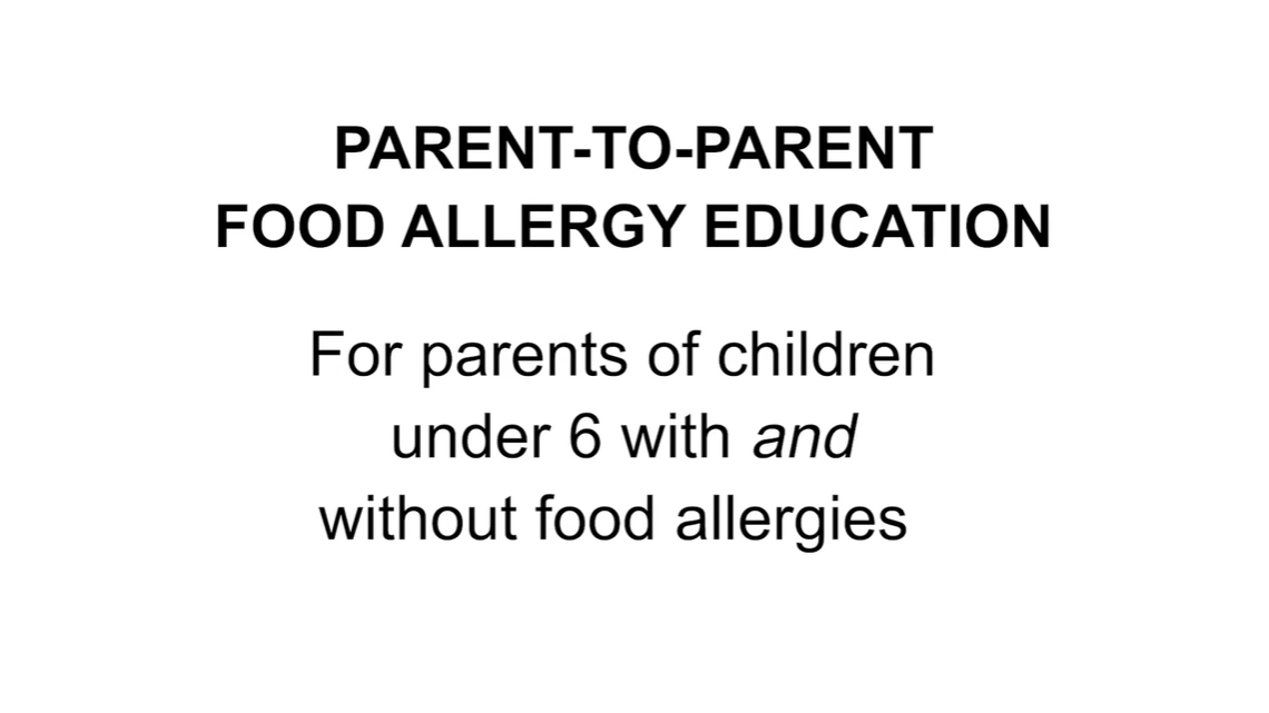 Early Childhood and Food Allergies- Parent Video English
