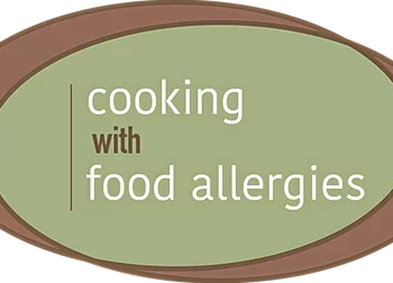 Cooking with food allergies logo